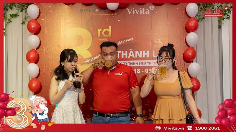sinh nhật công ty siêu thị sông khỏe vivita 10
