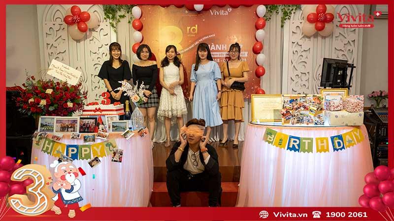 sinh nhật công ty siêu thị sông khỏe vivita 5