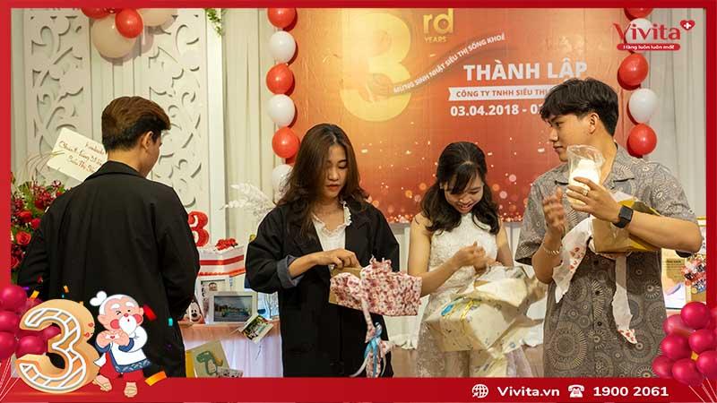 sinh nhật công ty siêu thị sông khỏe vivita 8