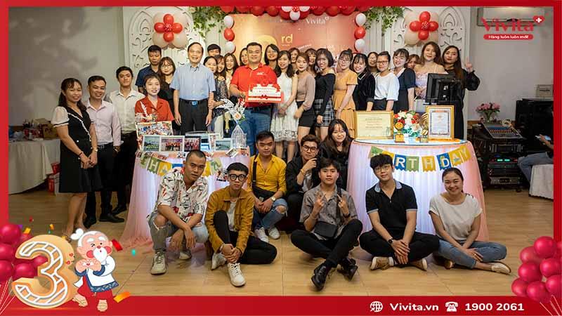 tập thể công ty Siêu Thị Sống Khỏe Vivita 2